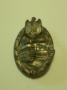 Panzer Tank crew badge, 1940