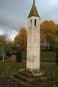 Autumn colours behind the ZSL war memorial, London Zoo, November 2010 (Photo: Kate Oliver, ZSL Education)