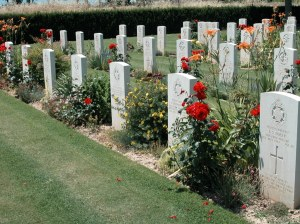 One of RBG Kew Gardens' WW2 staff casualties rests  in this beautifully planted war cemetery, Assisi, Italy. (Image copyright CWGC website www.cwgc.org)