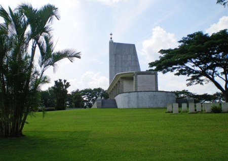 Singapore Memorial (image copyright CWGC website www.cwgc.org)
