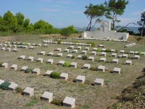 Lala Baba cemetery, Turkey. Image copyright CWGC