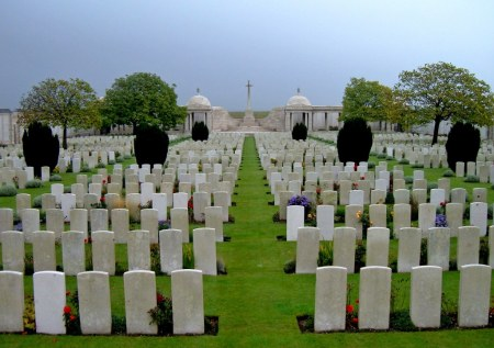 William Bodman is listed on the Loos Memorial (Image: CWGC website)