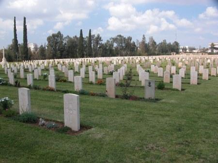 Ramleh Cemetery (Image: CWGC website)