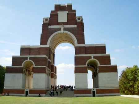 Several ZSL staff with no known grave are remembered on the Thiepval Memorial (Image: CWGC website)