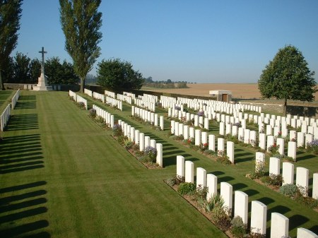 Unicorn Cemetery (Image: CWGC website)