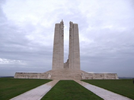 Vimy Memorial  (Image: CWGC website)