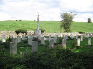 Le Fermont Cemetery, CWGC (Image copyright CWGC website)