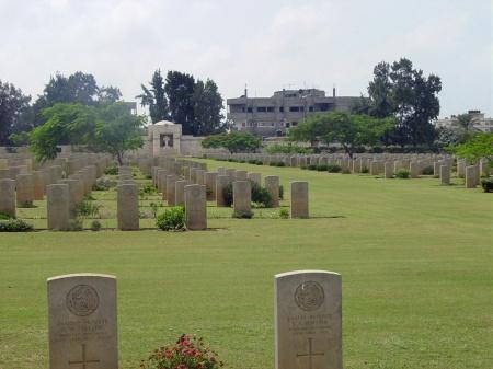 southgate gaza cemetery 2 CWGC