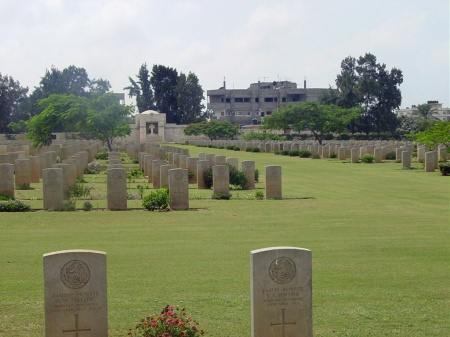 Fellow Norfolk regiment soldiers Foyster and Snelling who died on the same day lie buried near Herbert Southgate, Gaza Cemetery. Source: CWGC