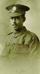 William Dexter, ZSL London Zoo keeper killed in WW1 (Photo: Courtesy of Nova Jones, digital clean up Adrian Taylor ZSL)