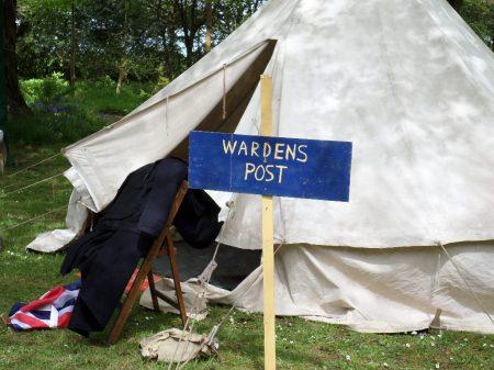Warden's tent, Trengwainton, 2014.  Image - WWZG.