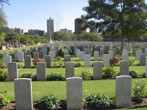 Cairo War Memorial Cemetery (image CWGC website)