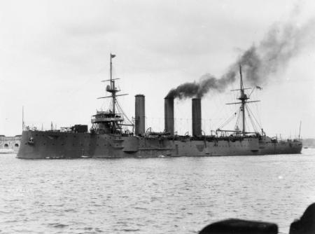 HMS Kent 1901-1920 Source: Wikipedia