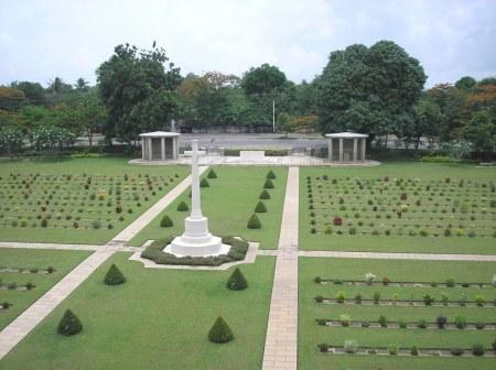 Taukkyan Cemetery, Burma.  Image Source: CWGC