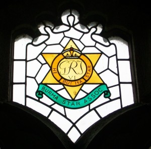 Burma Star Association window, Zennor Parish Church, Cornwall. Image: Mark Norris / WWZG