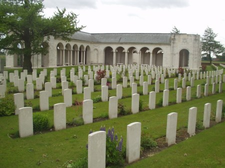 Le Touret Memorial, France  to the missing of 1914/15 battles (Image Source: CWGC website)
