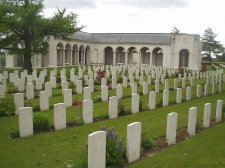 Le Touret Memorial, France  to the missing of 1914/15 battles (Image Source: CWGC website)
