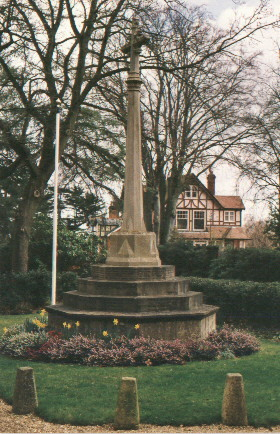 Bagshot War memorial (Image from the Bagshot village website)