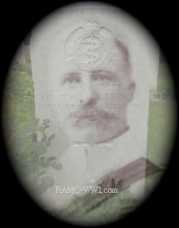 Neville Manders (image source from the RAMC WW1 website)