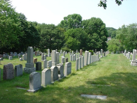 Toronto Cemetery where J M Campbell is buried. Image: CWGC website