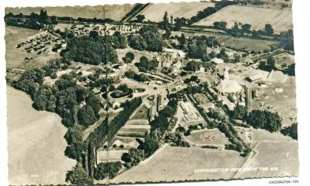 chessington aerial 1950s
