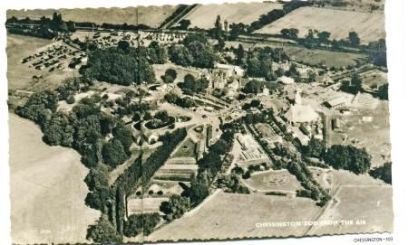 chessington aerial 1950s