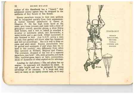 Home Gaurd Brophy book parachutists