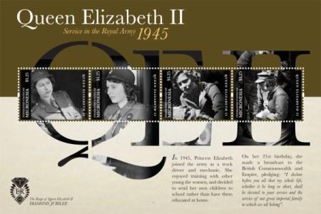 ww2 QE2 stamp 2