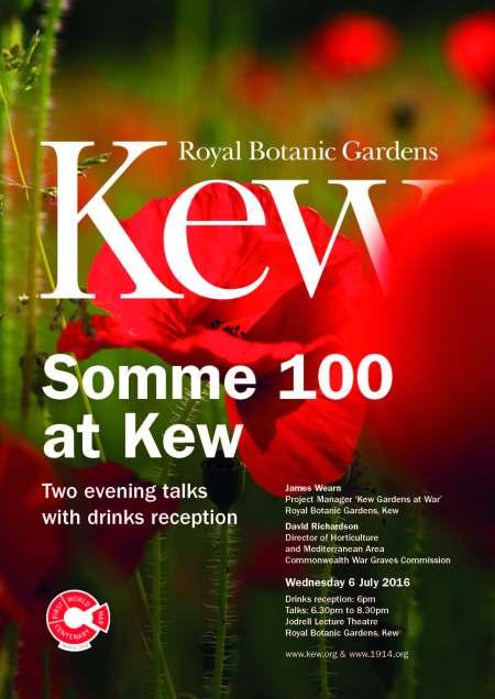 Somme 100 at Kew
