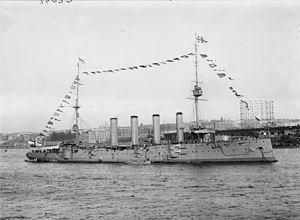 300px-HMS_Drake_1909