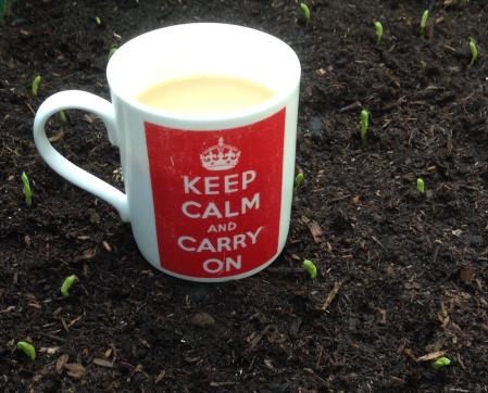 tea and peas to all